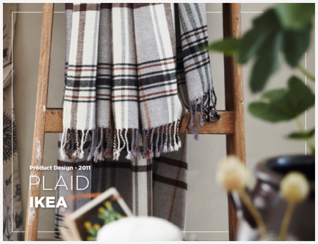 Plaid hermine – IKEA