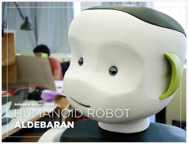 Humanoid robot • ALDEBARAN ROBOTICS