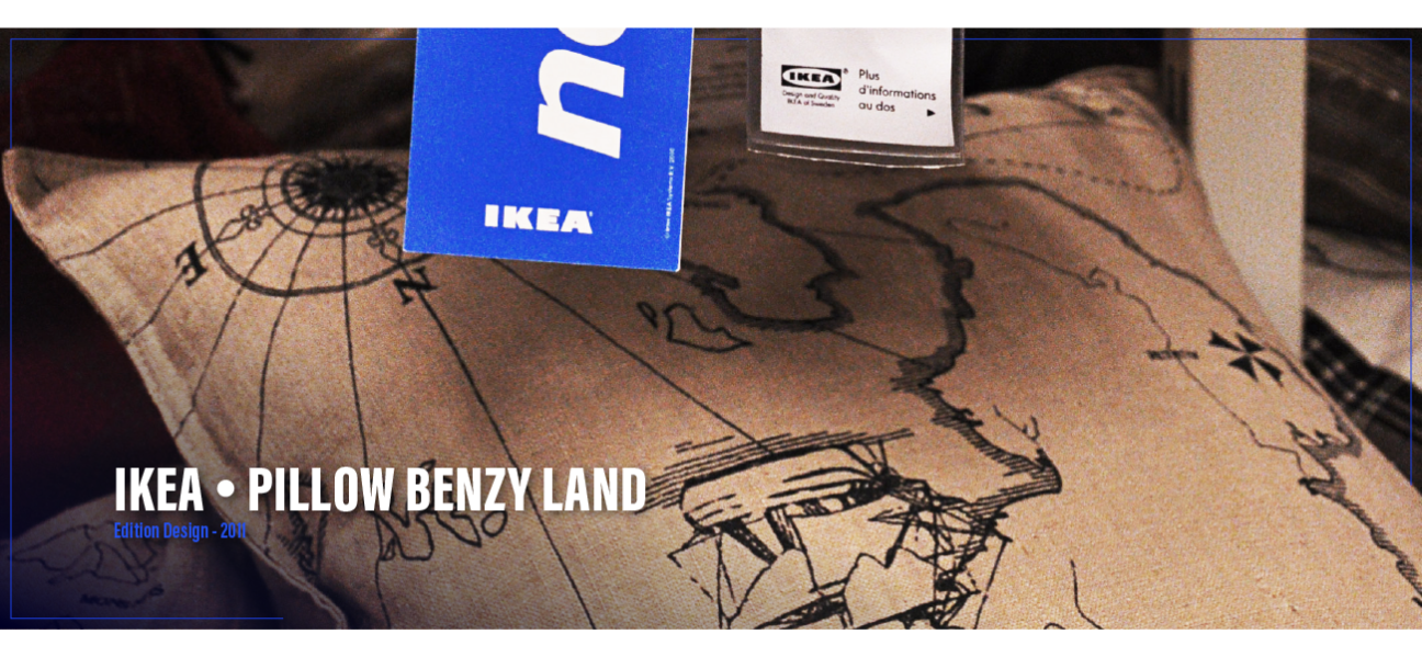 Pillow Benzy Land – IKEA